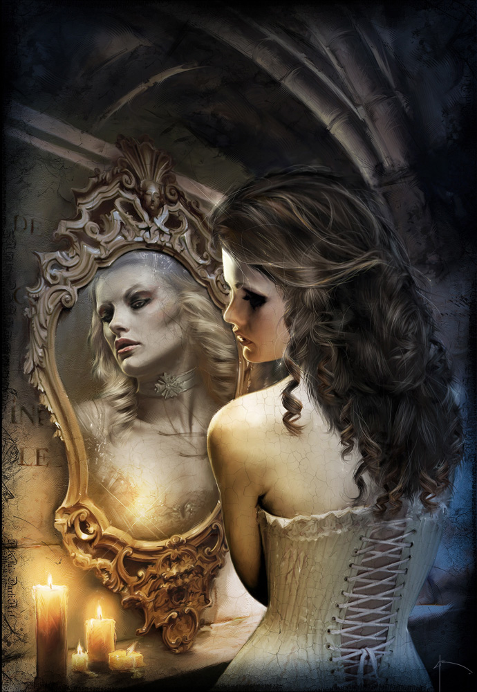 illustration by Yayashin - Dark fantasy - Andhema