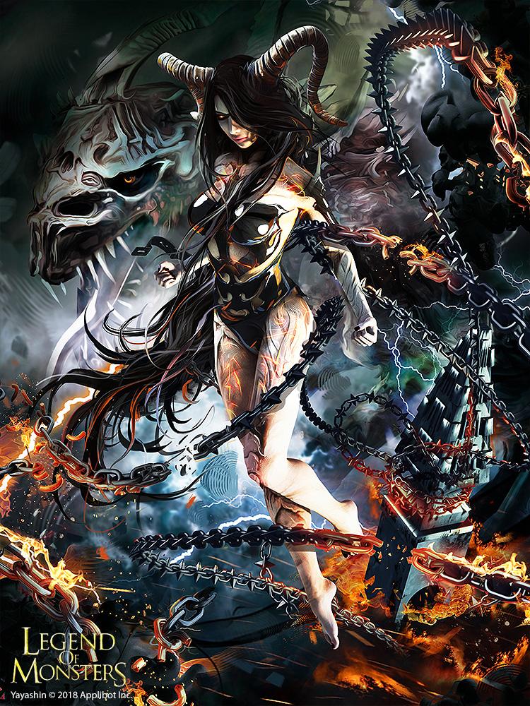 dark-queen-02-legend-of-monsters-yayashin