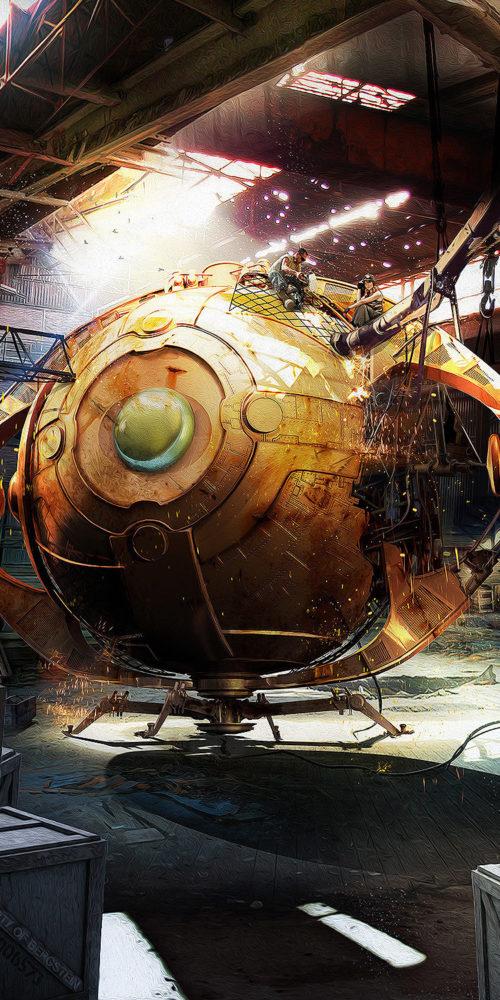 Time machine - olivier Boillot - Concept - yayashin